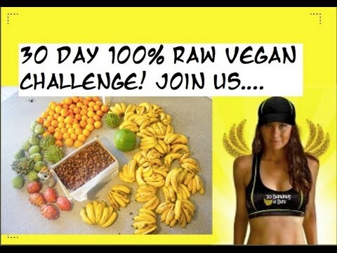 Freelea: 30 Days 100% High Carb Raw Vegan with The Banana Girl