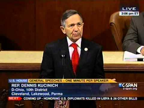 Kucinich Calls Out Monsanto: Americans Demand GMO Labeling
