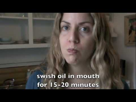 Natasha St Michael: Get White Teeth & Healthy Gums Naturally by Oil Pulling
