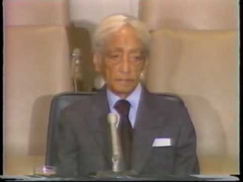 Krishnamurti: At United Nations. (1 of 8)