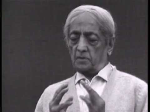 Krishnamurti: Love And Freedom (3 of 8)