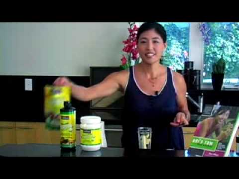 Ani Phyo: Hemp Smoothie