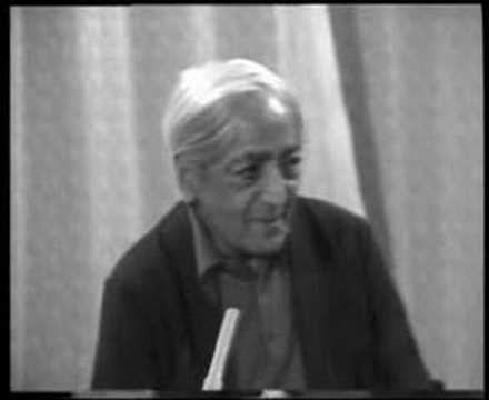 Krishnamurti: Dialogue On Death (4 of 12)
