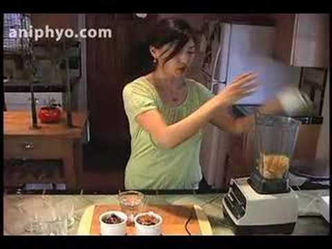 Ani Phyo: Fuzzy Navel Smoothie