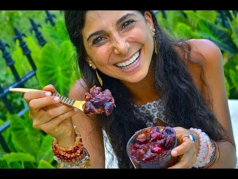Kristina Carrillo-Bucaram: Southern Charm Cherry Cobbler (Low Fat Raw Vegan)