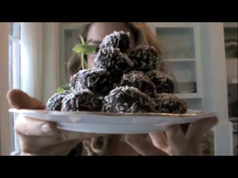 Natasha St Michael: Raw Cacao Superfood Dessert Balls Recipe