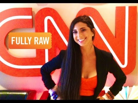 Kristina Carrillo-Bucaram: FullyRaw Kristina On CNN Español
