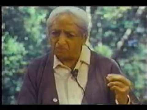 Krishnamurti: World Suffering
