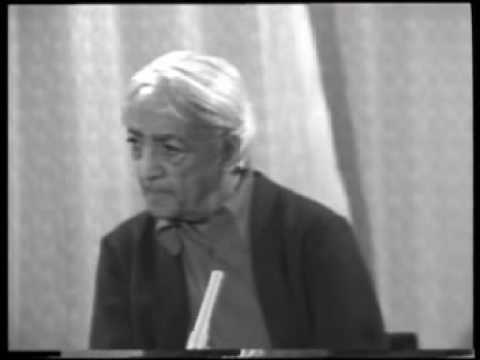 Krishnamurti: Dialogue On Death (7 of 12)