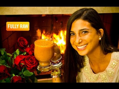 Kristina Carrillo-Bucaram: The FullyRaw Persimmon Nog!