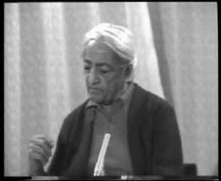 Krishnamurti: Dialogue On Death (10 of 12)