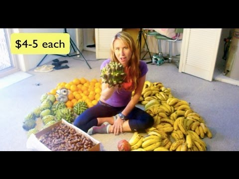 Freelea: High Carb Raw Vegan Diet 1 Week Of Food