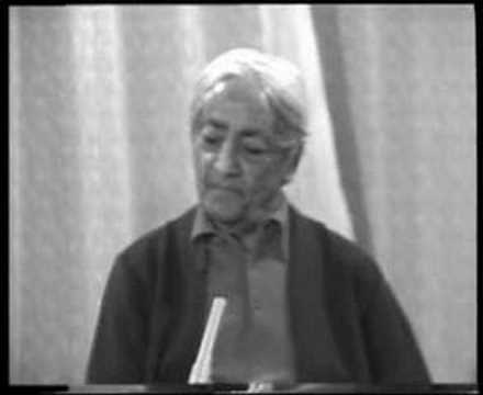 Krishnamurti: Dialogue On Death (8 of 12)