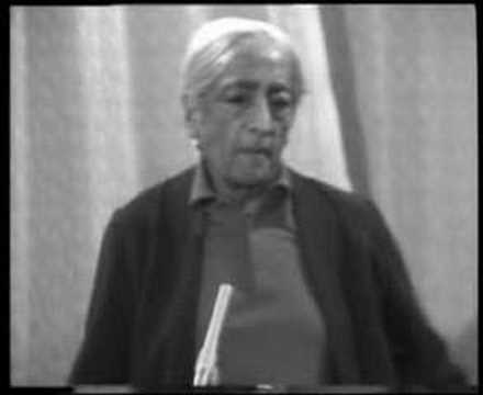 Krishnamurti: Dialogue On Death (5 of 12)