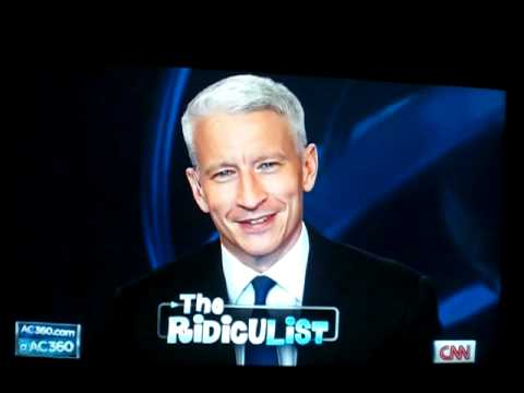 Anderson Cooper LOSES IT Laughing
