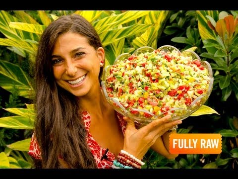 Kristina Carrillo-Bucaram: The FullyRaw Holiday Salad!