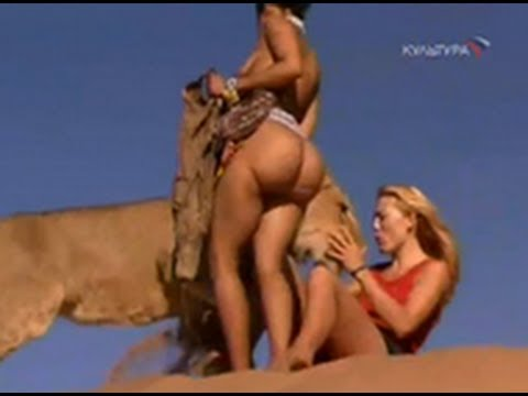 Girl Raised As A Bushman Walking With Lions & Toys With Group Of Cheetahs!