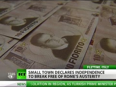 Age Of Austerity: Italy Town Rebels Against Rome, Wants Own Currency