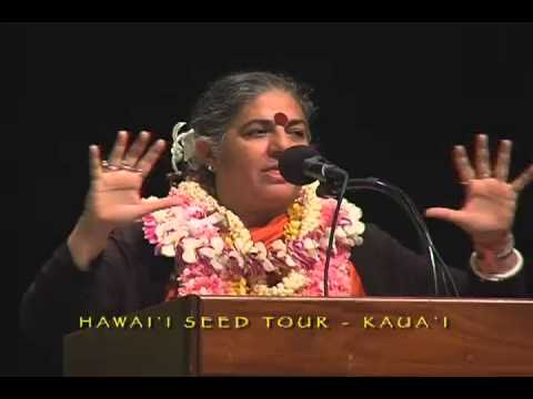 Dr. Vandana Shiva: Hawaii Seed Tour In Kauai
