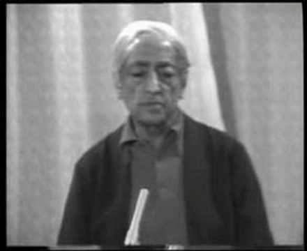Krishnamurti: Dialogue On Death (6 of 12)