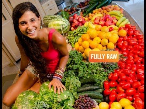 Kristina Carrillo-Bucaram : My Weekly Raw Food Stash!